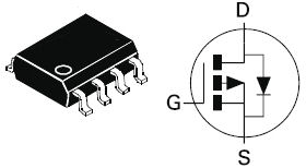 ZXM66P02N8, 20V P-CHANNEL ENHANCEMENT MODE MOSFET